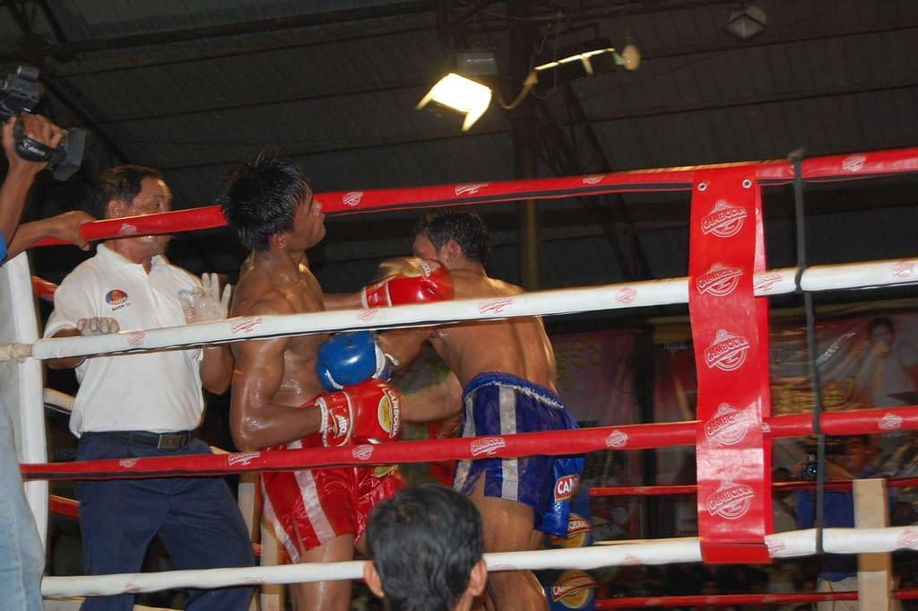 Khmer Kickboxing Arena Phnom Penh Cambodia