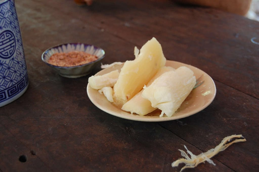 Photo Cassava Root served at Cu Chi Tunnels