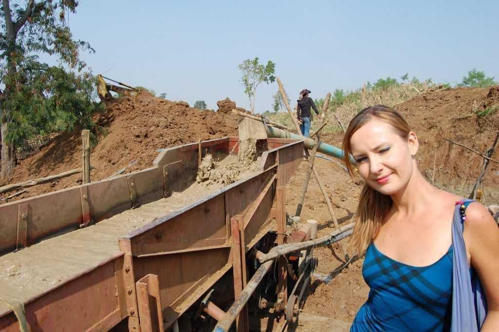 prospector's camp Pailin Cambodia