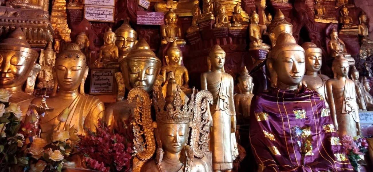 Pindaya Cave of 9000 Buddhas