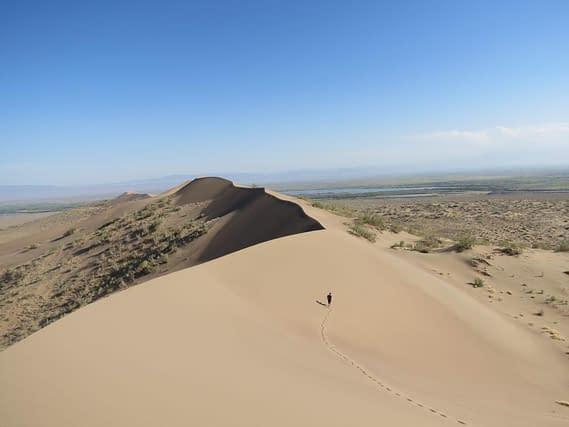Kazakhstan singing dunes