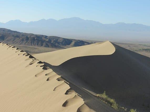 Kazakhstan giant sand dunes