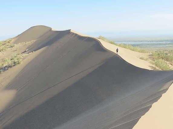 Altyn Emel Singing Sand Dunes