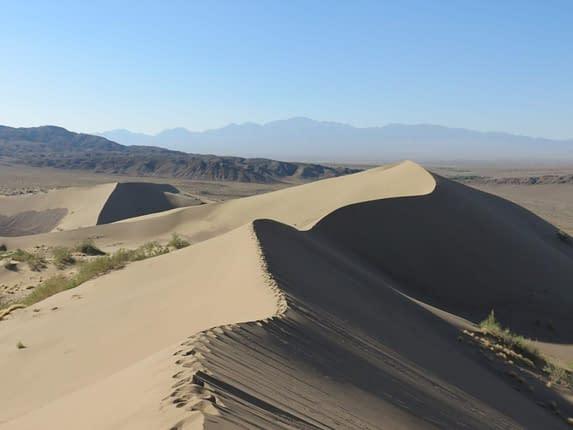 Altyn Emel National Park Sand Dunes