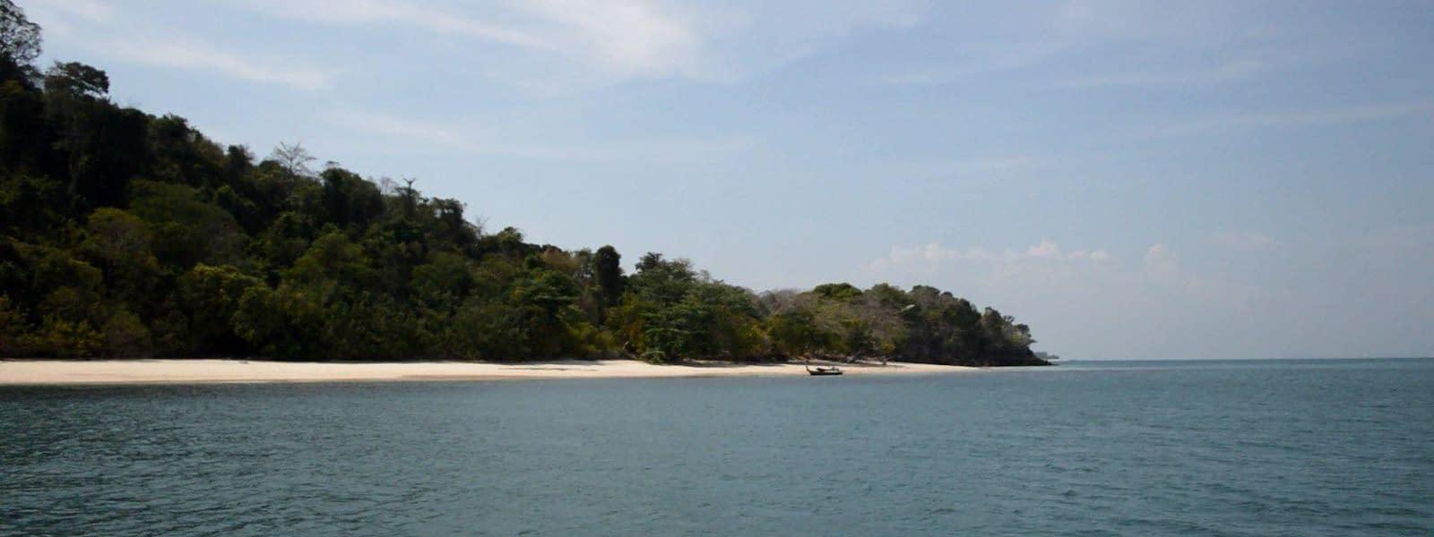 Thailand Secret Islands koh bulone pai beach