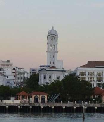 Queen Victoria clock tower Penang