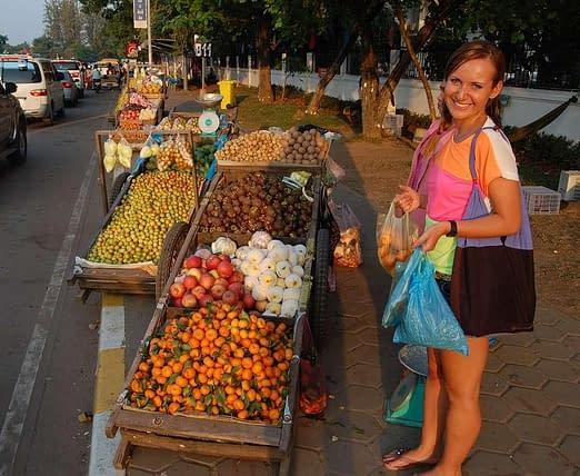Local Markets Vientiane Things to do