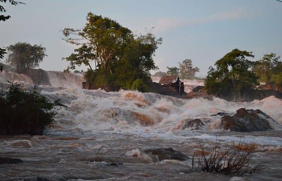 Mekong river flood stage