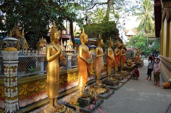 Wat Si Muang Buddhas