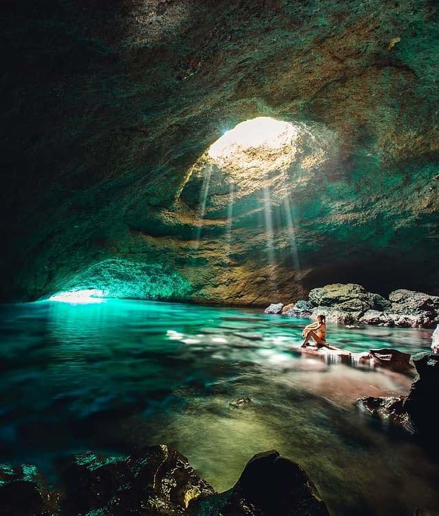 Cave Exploration is a unique Vanuatu passport benefit