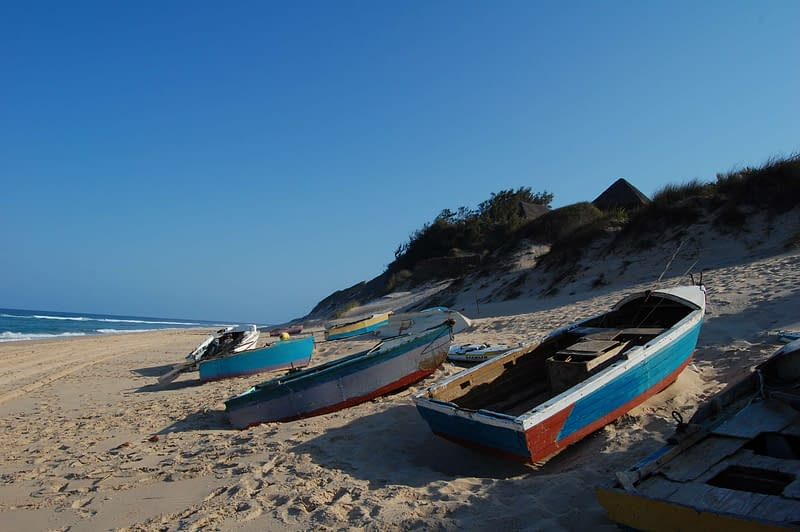 White Powder Beach - Paindane mozambique